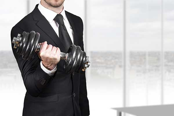 Personal Trainer in Business
