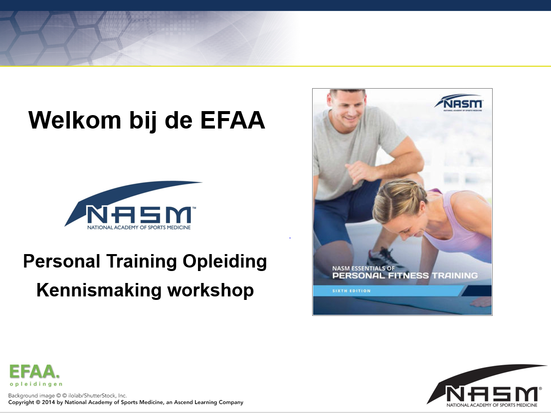 NASM Personal Training workshop